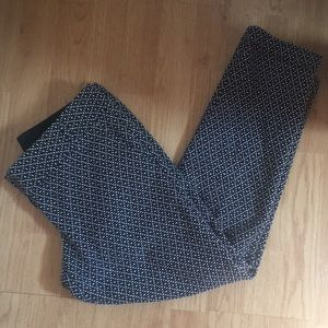 The Limited Cropped Textured Dot Pants